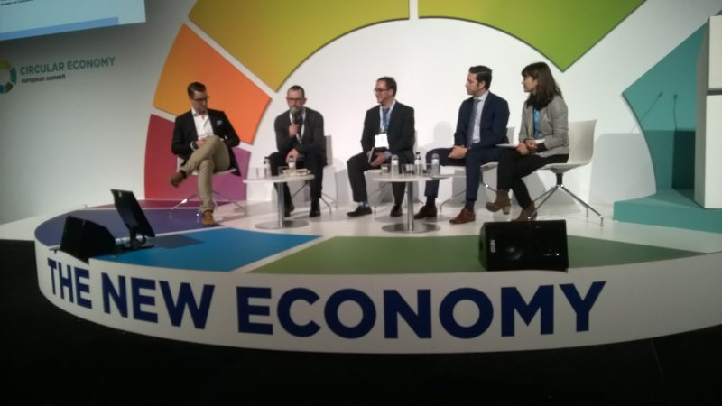 Circular Economy European Summit, dialogue