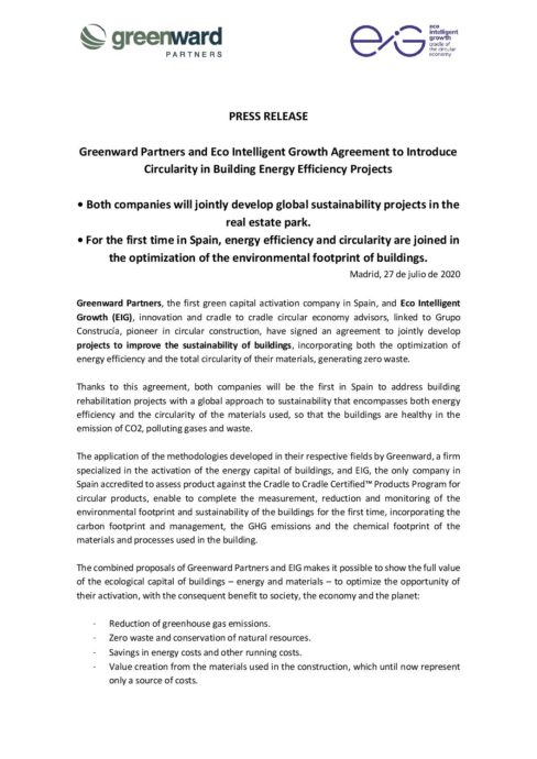 Press release Greenward_EIG-EN